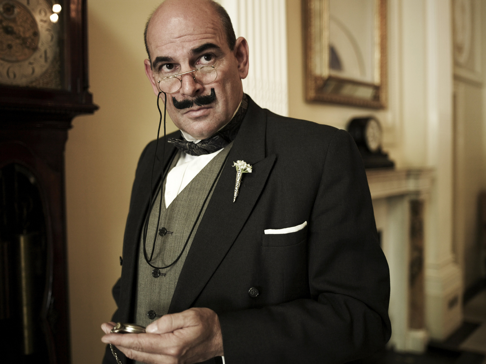 Hercule Poirot created by Torquay born Queen of Crime Agatha Christie