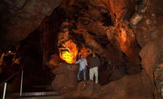 Kent's Cavern in Torquay on The English Riviera.